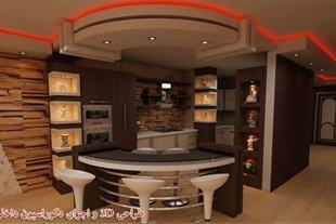 کابینت آشپزخانه نوین طرح