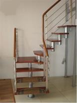 پله مفصلی با سازه آلومینیوم