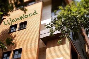 نمای چوبی ترمو - شرکت لیژان