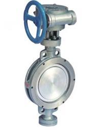 شیرپروانه ای فلز به فلز وسیت تفلونی (فولاد پارسه) - 1