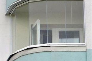 شیشه بالکن بیستون - شیشه بالکن مدرن