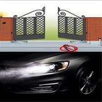 باز کردن درب پارکینگ با چراغ خودرو