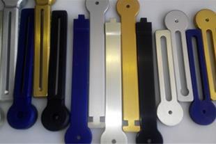 آنودایز رنگی قطعات اپتومکانیک