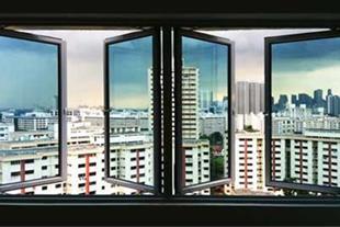 پنجره دو جداره آلومینیومی