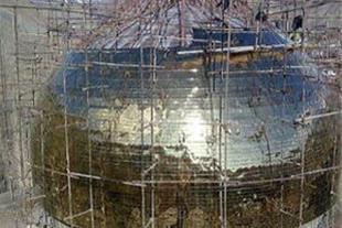 ساخت گنبد/سازنده گنبد/ گنبد فلزی/ گنبد فلزی مسجد/گ - 1