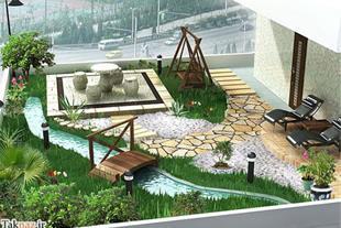 طراحی اجرا و نگهداری فضای سبز