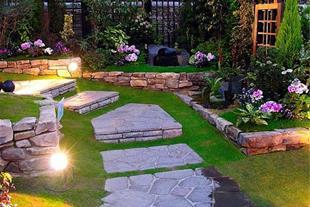 طراحی فضای سبز ویلا باغ باغچه