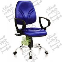 صندلی جکدار و گردان کارمندی