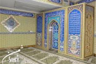 تولید کننده محراب و کتیبه چوبی mdf در تهران