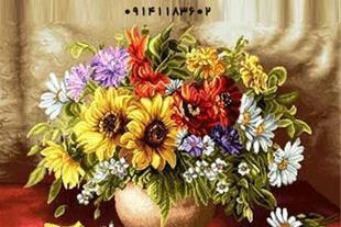 بافت و فروش تابلو فرش های دستباف، تابلو فرش گل