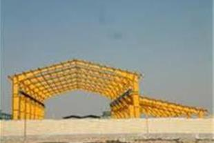 اجرا و نصب پوشش سقف سوله