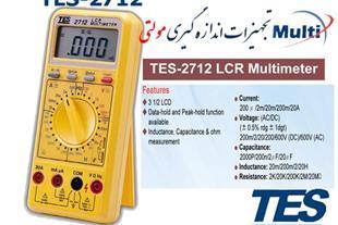 lcr meter ال سی ار متر TES-2712 - 1