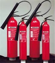 کپسول آتش نشانی پودر و گاز و آب و گاز و بیورسال