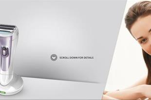 شیور زنانه با کاربری بدون سیم - WDF4840