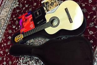 گیتار آلوارز اصل فرانسه پیکاپ دار