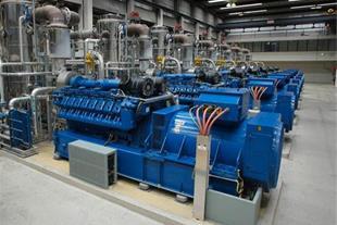 نیروگاه مقیاس کوچک CHP با مولدهای گازسوز