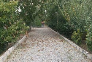 6000 متر باغ  دو بر جاده اصلی در مرکز شهریار