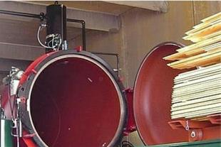 تولید تخته اشباع شده - فروش چوب اشباع شده ترمووود