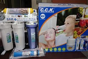 دستگاه تصفیه آب خانگی سی سی کا -c.c.k تایوان
