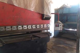 دو دستگاه برش و خم فلزات ورق ها و لو له های سنگین