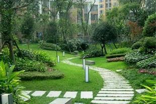 طراحی و اجرای محوطه سازی در باغ و باغچه