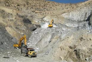 فروش معدن سنگ گچ