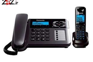 تلفن بیسیم پاناسونیک مدل  Panasonic KX-TG6458BX