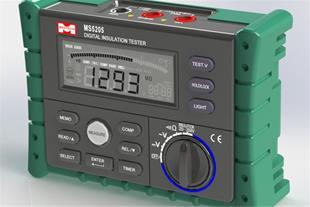 میگر|تست عایق دیجیتال 2500 ولت مدل MS5205
