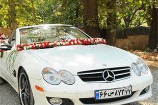 اجاره ماشین عروس بنز clk