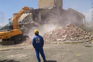 شرکت تخریب ساختمان و خاکبرداری المپیک