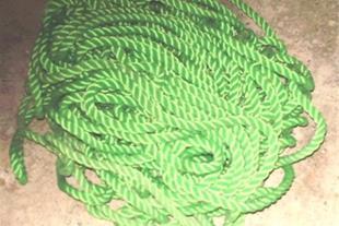 55 متر طناب پلاستیکی نو