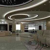 طراحی واجرا سقف کاذب شبکه 60*60 ودیوار پوش