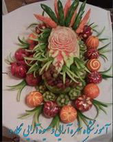 حکاکی و تزیین هندوانه شب یلدا