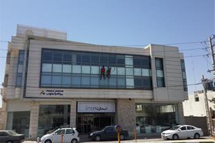 کار در ارتفاع کنیتکس بدون داربست در شیراز