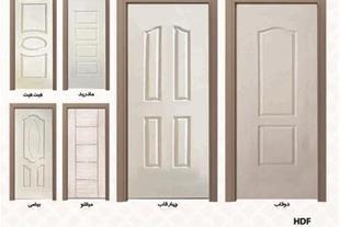 درب تمام چوب- درب چوبی HDF قیمت58000 تومان