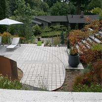 طراحی فضای سبز و محوطه سازی مدرن (مشهد)