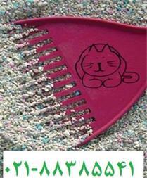 فروش خاک بستر گربه دانه رنگی پی سی ال - 1