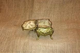 صندوق جواهر کوچک آنتیک