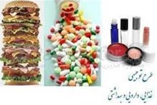 طرح توجیهی صنایع غذایی و دارویی