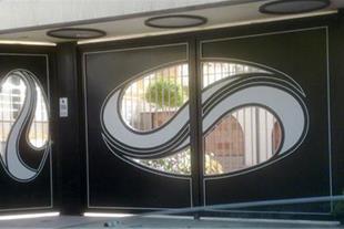 ساخت درب و پنجره فلزی 2جداره