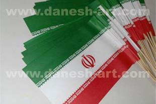 پرچم ایران کاغذی - ایران پرچم - پرچم دستی