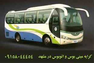 کرایه مینی بوس در مشهد - کرایه اتوبوس در مشهد