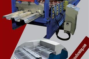 خط تولید عرشه فولادی