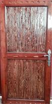 درب های تمام چوبی روسی - 1