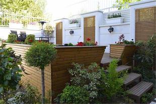 طراحی و احداث تخصصی فضای سبز (روف گاردن)