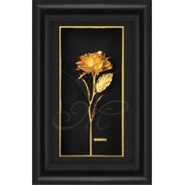 فروش تابلو گل رز طلا