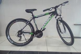 دوچرخه رامبو منتاِِِزشده باقطعات کامل شیمانو