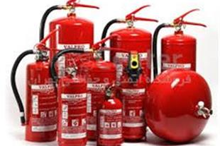 شارژ و فروش کپسول های آتش نشانی