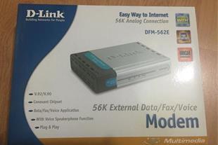 modem dlink dfm-562e مودم اکسترنال