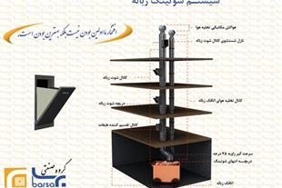 تولید انواع سیستم شوتینگ زباله و نخاله